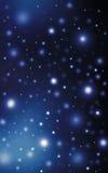 De fonkelende heldere hemel van de sterrennacht Royalty-vrije Stock Foto