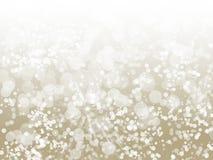 De Fonkeling Abstracte Bokeh van Champagne Stock Foto's