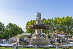 De Fontaine DE La Rotonde fontein royalty-vrije stock afbeelding