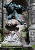 de fontaine medicis arkivbild