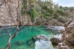 ` de Fontaine de Vaucluse do ` - Provence - França Foto de Stock Royalty Free