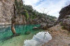 ` de Fontaine de Vaucluse do ` - Provence - França Imagem de Stock Royalty Free