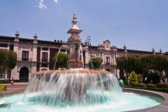de Fontanna lerdo Mexico toluca Zdjęcia Royalty Free