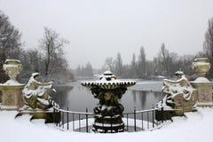 De fontein Stock Afbeelding