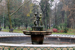 De fontein Stock Fotografie