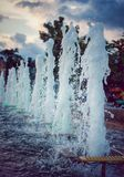 De fontein royalty-vrije stock foto