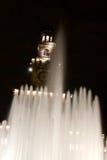 De fontein Milaan van het Kasteel van Sforza Royalty-vrije Stock Foto