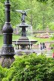 De Fontein van Bethesda in Central Park royalty-vrije stock fotografie