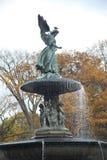 De Fontein van Bethesda in Central Park Stock Afbeeldingen