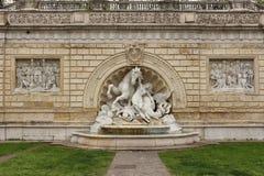 De fontein van Bologna, Italië Stock Fotografie