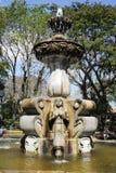 De fontein van centraal park bij Antigua stock foto