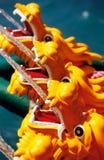De Fontein van de draak Stock Foto's