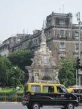 De fontein van de flora in Mumbai, India stock foto's