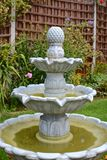 De fontein van de huistuin Stock Afbeelding