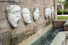 De fontein van de stad stock fotografie