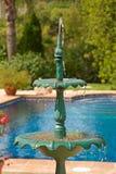 De fontein van de tuin Stock Foto
