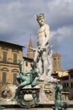 De fontein van Florence - van Neptunus royalty-vrije stock foto's