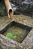 De Fontein van het bamboe Royalty-vrije Stock Fotografie