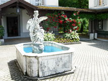 De Fontein van het engelenwater Royalty-vrije Stock Foto's