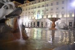 De fontein van het Paleis van Quirinal Royalty-vrije Stock Fotografie