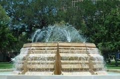 De Fontein van het park stock foto
