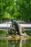 De Fontein van het Schonbrunnpaleis Stock Afbeelding