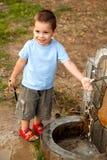De fontein van het water Stock Fotografie