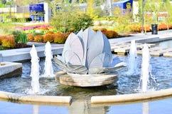 De fontein van het water Royalty-vrije Stock Foto's
