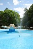De fontein van het water stock afbeelding