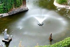 De Fontein van het water Stock Foto