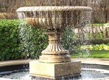 De Fontein van het water royalty-vrije stock foto