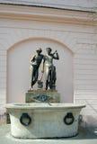 De fontein van Ildefonso (Ildefonso-Brunnen), Weimar, Duitsland Royalty-vrije Stock Fotografie