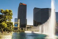De Fontein van Las Vegas royalty-vrije stock foto's