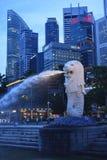 De fontein van Merlion Royalty-vrije Stock Afbeeldingen