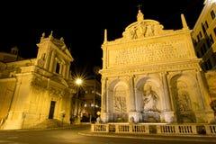 De fontein van Mozes Royalty-vrije Stock Foto's