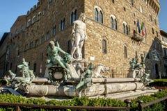 De fontein van Neptunus Royalty-vrije Stock Fotografie