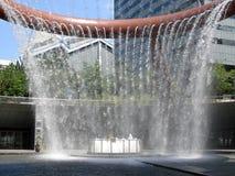 De fontein van Rijkdom Stock Afbeelding