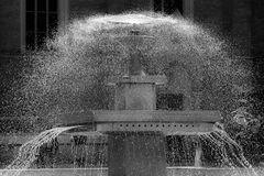 De fontein van de stad Royalty-vrije Stock Fotografie