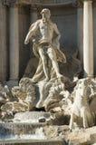 De fonteindetails van Di Trevi Stock Foto's