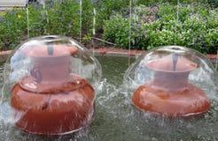 De fonteinen Stock Fotografie