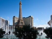 De fonteinen van Bellagio in Las Vegas Stock Foto's