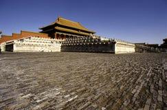 De Forbiden Stad, Peking Stock Afbeeldingen