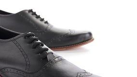 De formele schoenen, sluiten omhoog royalty-vrije stock afbeelding