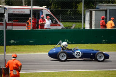 1960 de Formule Ondergeschikte auto van Autosport Mk2 Stock Afbeeldingen