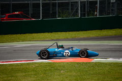 1962 de Formule Ondergeschikte auto van Brabham BT2 Royalty-vrije Stock Foto