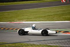 1960 de Formule Ondergeschikte auto van Emeryson FJ Royalty-vrije Stock Foto