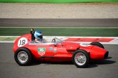 1958 de Formule Ondergeschikte auto van Volpini FJ Royalty-vrije Stock Afbeeldingen