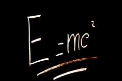 De formule van Einstein royalty-vrije stock foto