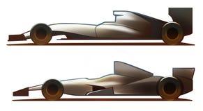 De Formule van het autolichaam Stock Foto