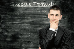 De formule van het succes Stock Foto